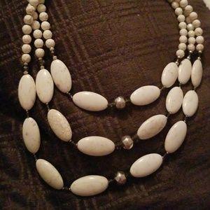 Silpada N3254 Howlite necklace